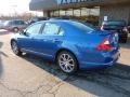 2011 Blue Flame Metallic Ford Fusion SEL  photo #2