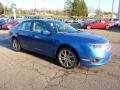 2011 Blue Flame Metallic Ford Fusion SEL  photo #6