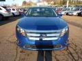 2011 Blue Flame Metallic Ford Fusion SEL  photo #7
