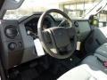 2011 Ford F250 Super Duty Steel Gray Interior Prime Interior Photo
