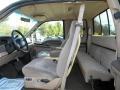 Medium Prairie Tan 1999 Ford F350 Super Duty Interiors