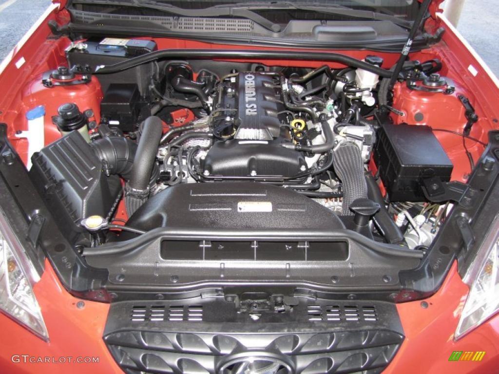 2010 Hyundai Genesis Coupe 2 0t 2 0 Liter Turbocharged Dohc 16 Valve Dual Cvvt 4 Cylinder Engine