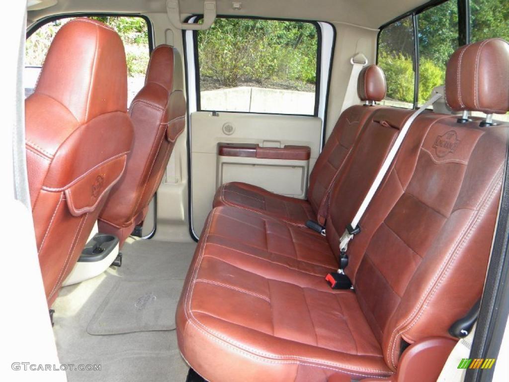 2008 Ford F350 Super Duty King Ranch Crew Cab 4x4 Dually Interior Photo 40606885