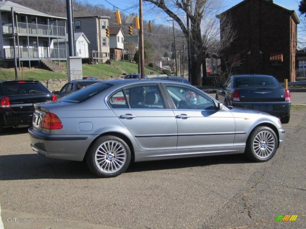 Steel grey metallic 2003 bmw 3 series 330xi sedan exterior photo 40608161