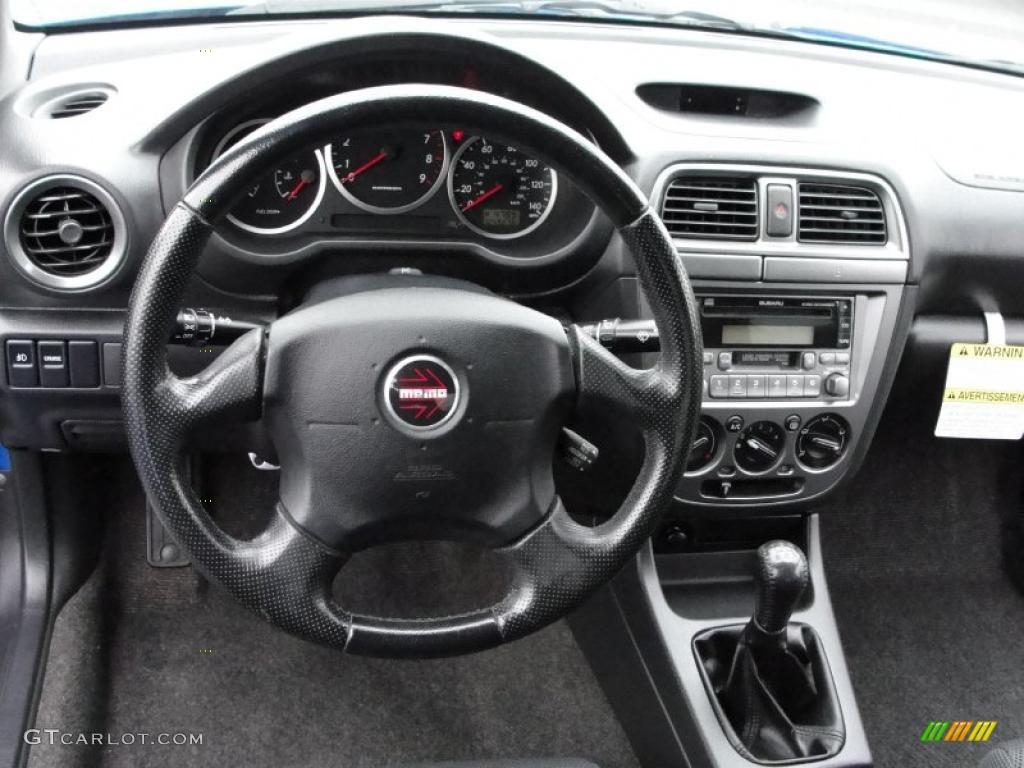2004 Subaru Impreza WRX Sedan Dark Gray Dashboard Photo ...