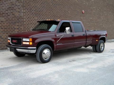 1997 gmc sierra 3500 sle crew cab 4x4 dually data info. Black Bedroom Furniture Sets. Home Design Ideas