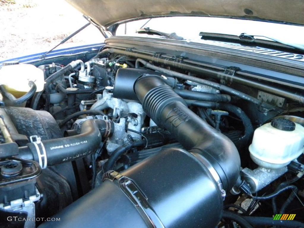 1999 Ford F350 Super Duty XLT Crew Cab 4x4 Dually 6.8 Liter SOHC 20-Valve V10 Engine Photo #40625674