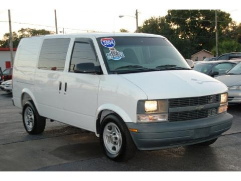 2004 Chevrolet Astro Cargo Van Data, Info and Specs
