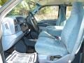 Blue 1999 Ford F350 Super Duty Interiors