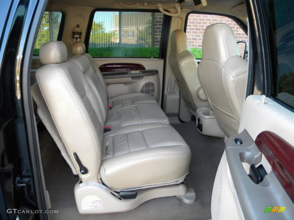 Medium Parchment Interior 2004 Ford Excursion Limited 4x4 Photo 40627226