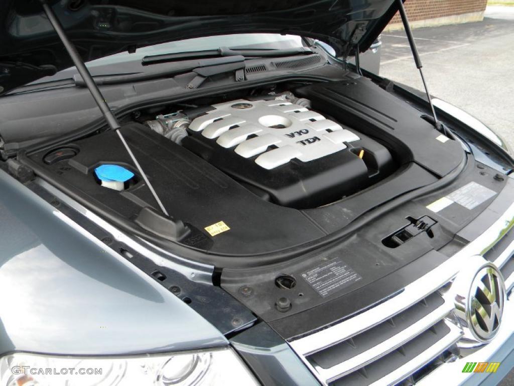 2004 Volkswagen Touareg V10 Tdi 5 0 Liter Sohc 20 Valve Turbo Sel Engine
