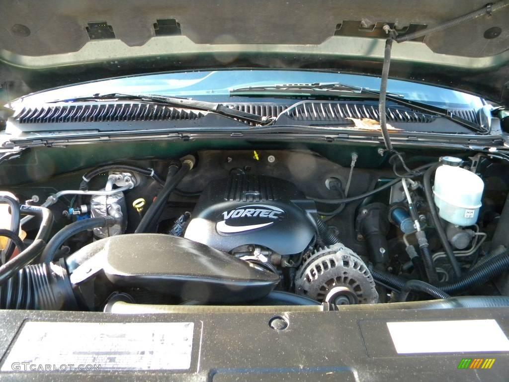 2002 Chevrolet Silverado 2500 Ls Extended Cab 4x4 6 0