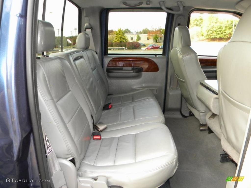 Medium Flint Interior 2004 Ford F250 Super Duty Lariat ...