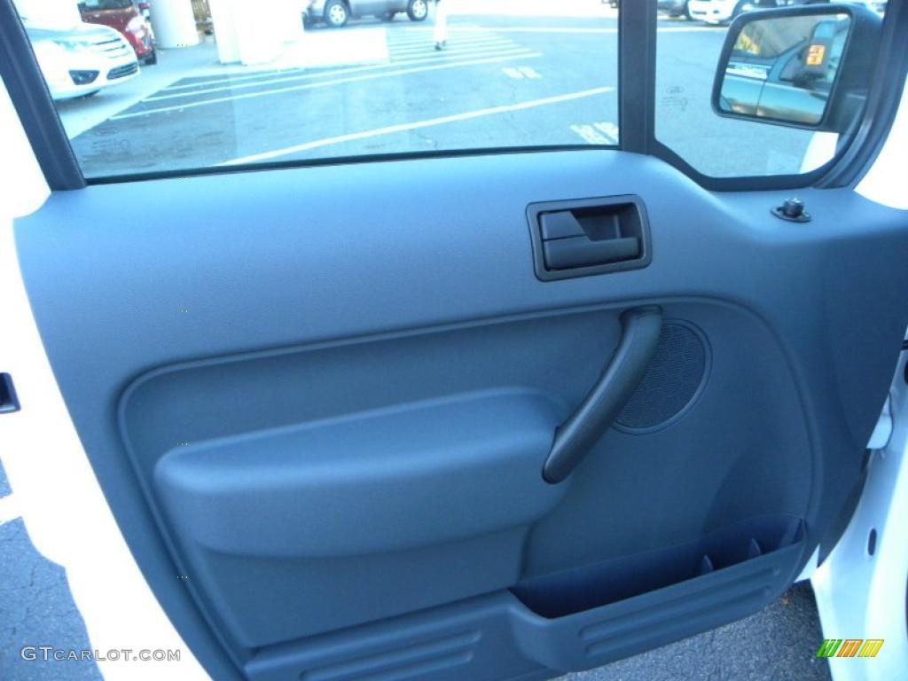 2010 Ford Transit Connect Xlt Cargo Van Dark Gray Door Panel Photo 40632110
