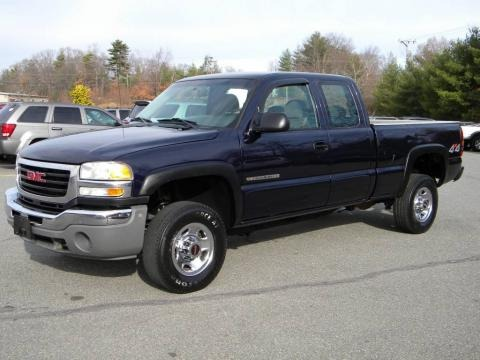 2005 gmc sierra 2500hd extended cab 4x4 data info and specs. Black Bedroom Furniture Sets. Home Design Ideas