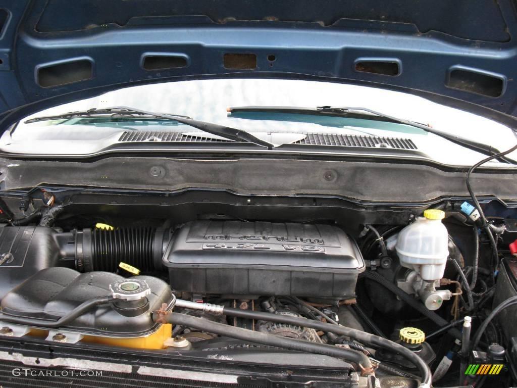 2002 Dodge Ram 1500 Sport Quad Cab 4x4 4 7 Liter Sohc 16