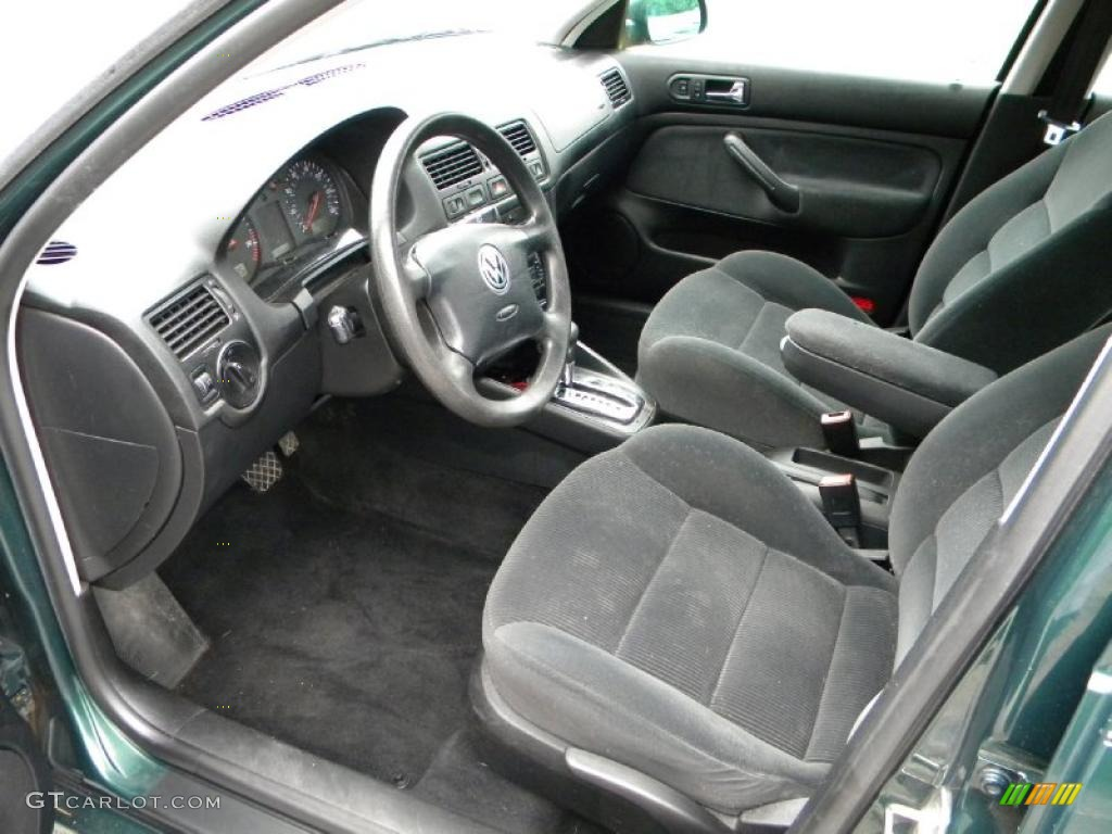 black interior 2001 volkswagen jetta gls tdi sedan photo 40636122. Black Bedroom Furniture Sets. Home Design Ideas