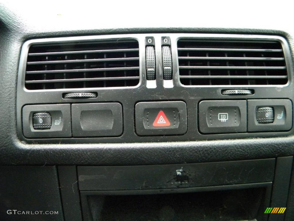 2001 volkswagen jetta gls tdi sedan controls photos. Black Bedroom Furniture Sets. Home Design Ideas