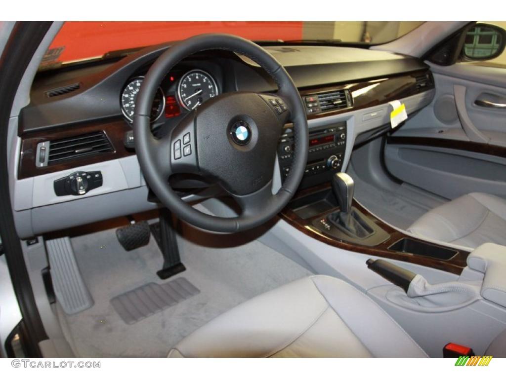 Gray Dakota Leather Interior 2011 Bmw 3 Series 328i Sedan