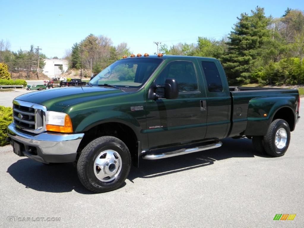 Woodland green metallic ford f350 super duty