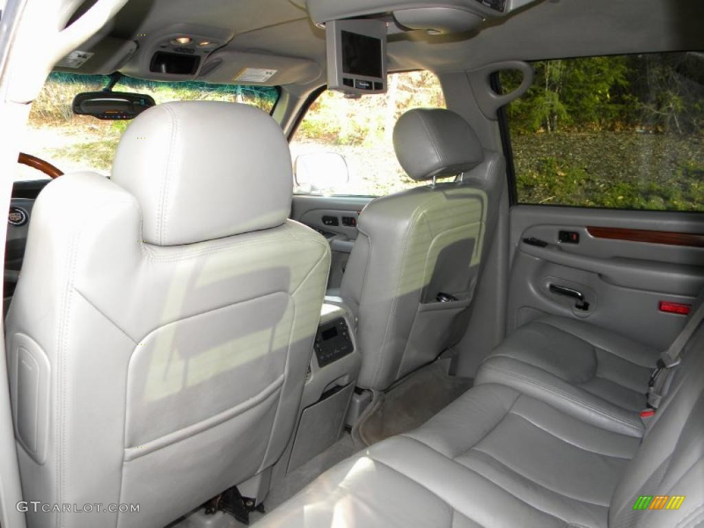 Pewter gray interior 2004 cadillac escalade ext awd photo 40638930