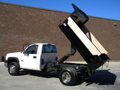 2003 Chevrolet Silverado 3500 Regular Cab 4x4 Chassis Dump Truck Data, Info and Specs