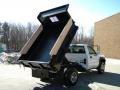 2003 Summit White Chevrolet Silverado 3500 Regular Cab 4x4 Chassis Dump Truck  photo #28