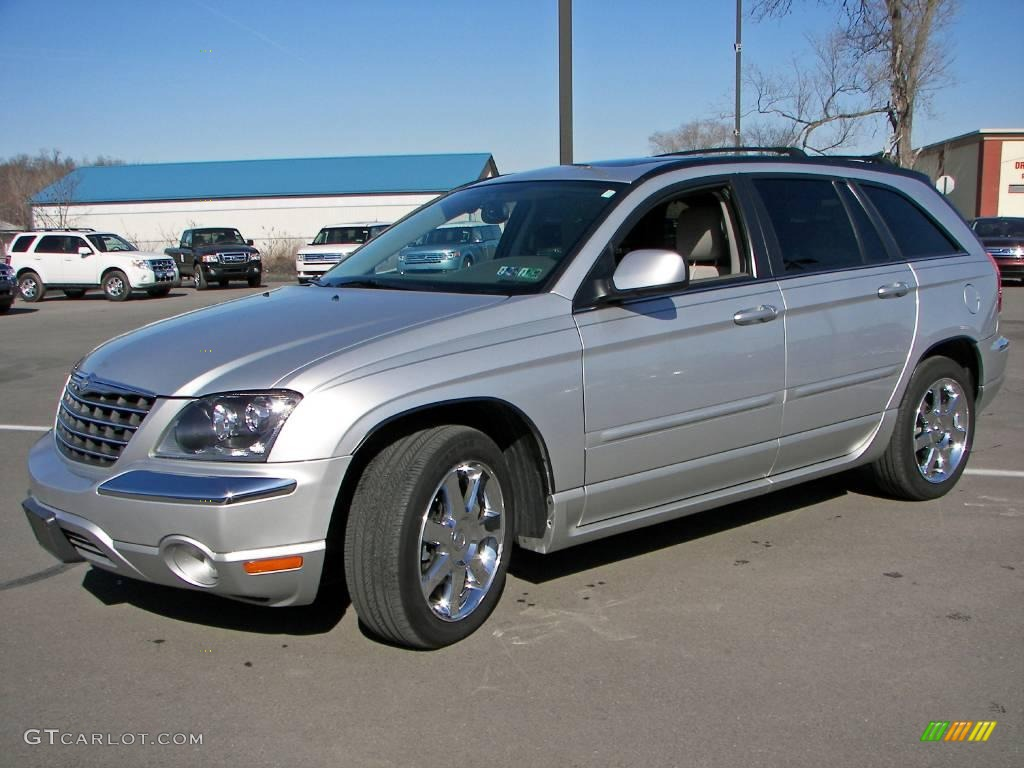 2006 bright silver metallic chrysler pacifica limited awd. Black Bedroom Furniture Sets. Home Design Ideas