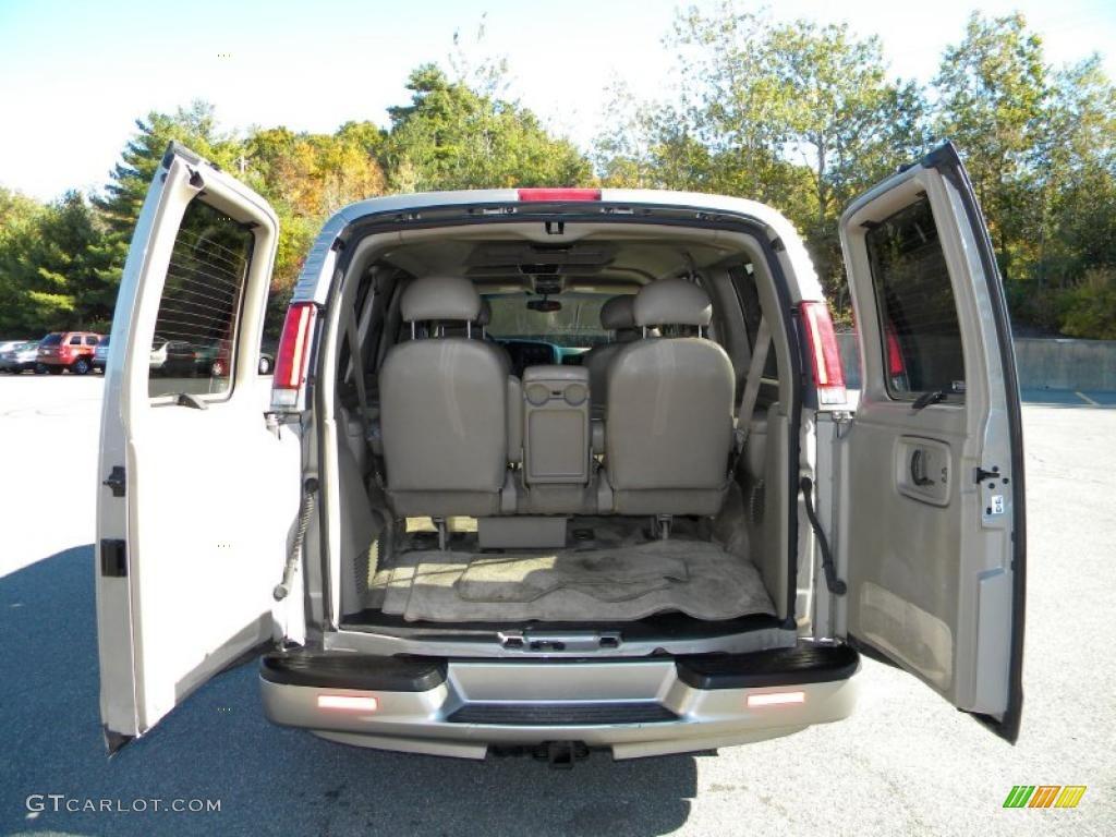 2002 Chevrolet Express 1500 Lt Passenger Van Interior Photo 40644266