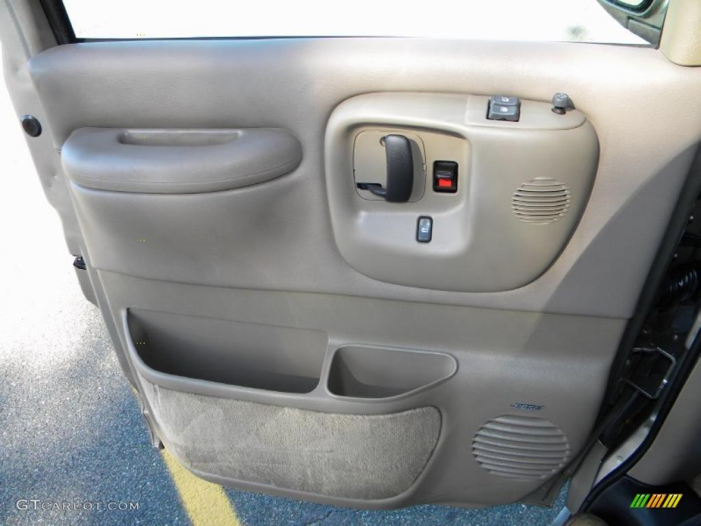 2002 Chevrolet Express 1500 Lt Passenger Van Neutral Door Panel Photo 40644442
