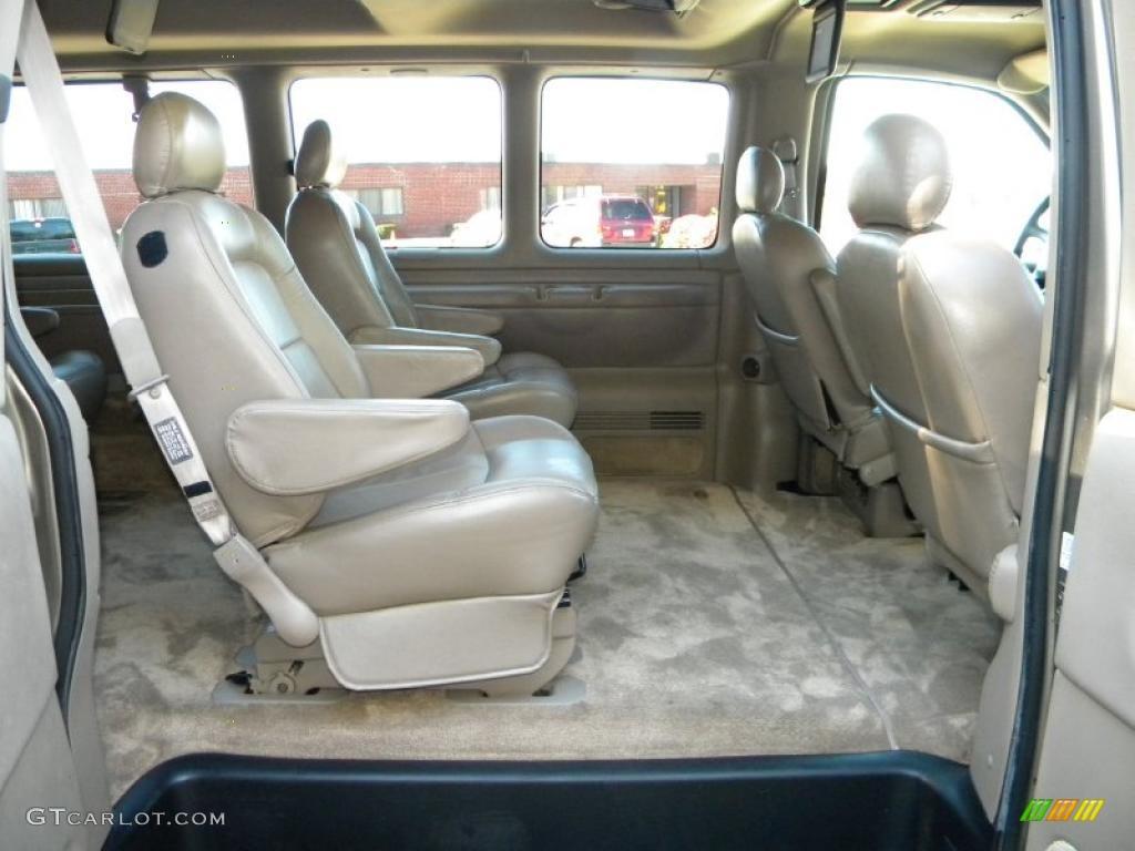 2002 Chevrolet Express 1500 Lt Passenger Van Interior Photo 40644562