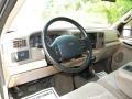 Medium Prairie Tan 1999 Ford F350 Super Duty XLT Crew Cab 4x4 Dually Interior Color