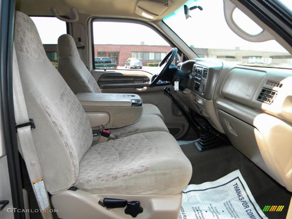 1999 Ford F350 Super Duty XLT Crew Cab 4x4 Dually Interior Color Photos