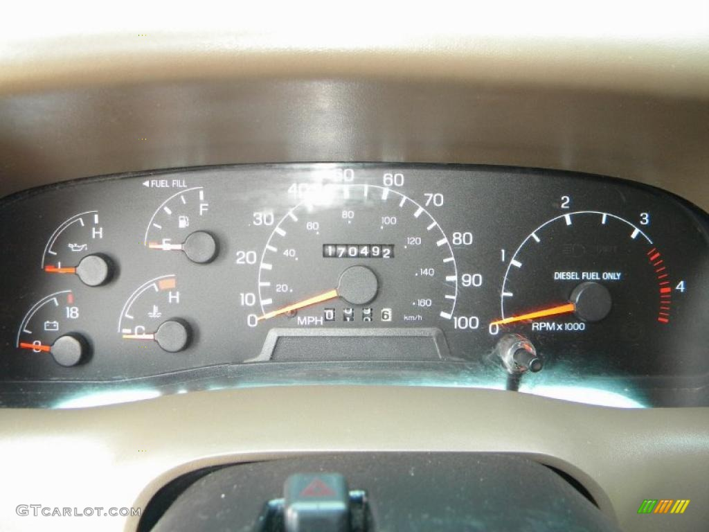 1999 Ford F350 Super Duty XLT Crew Cab 4x4 Dually Gauges Photos