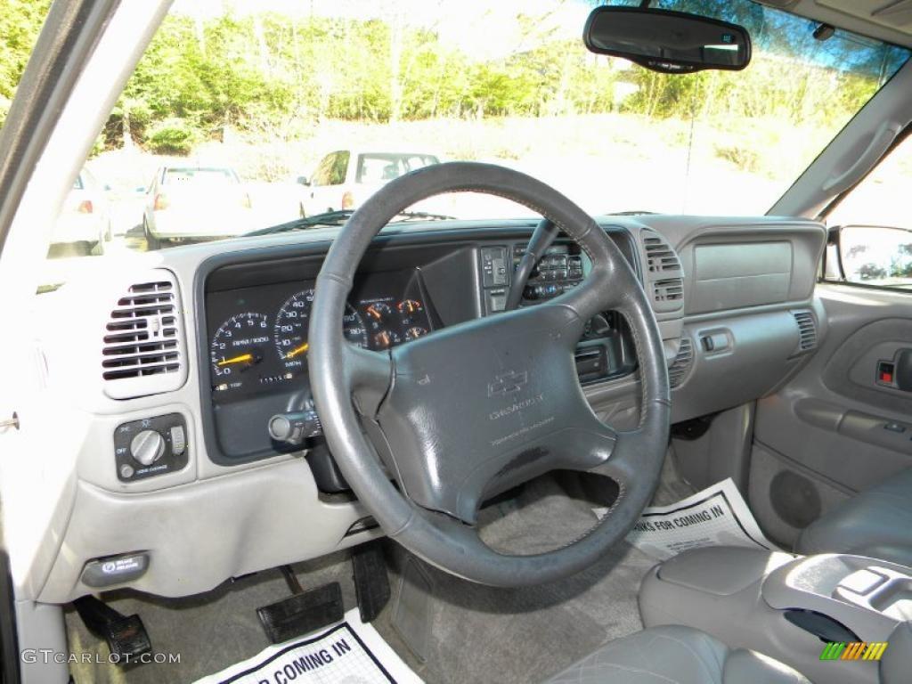 Pewter Interior 1997 Chevrolet Tahoe Lt 4x4 Photo 40649634