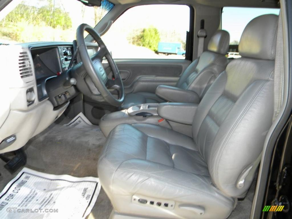 Pewter Interior 1997 Chevrolet Tahoe Lt 4x4 Photo 40649646