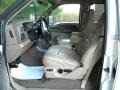 Medium Parchment Interior Photo for 2002 Ford F350 Super Duty #40651203