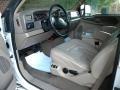 Medium Parchment Interior Photo for 2002 Ford F350 Super Duty #40651211