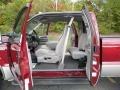 Medium Graphite Interior Photo for 2000 Ford F250 Super Duty #40654458