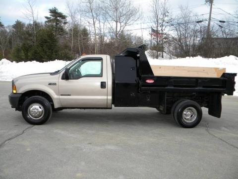 1999 Ford F350 Super Duty XL Regular Cab 4x4 Dump Truck Data, Info and Specs