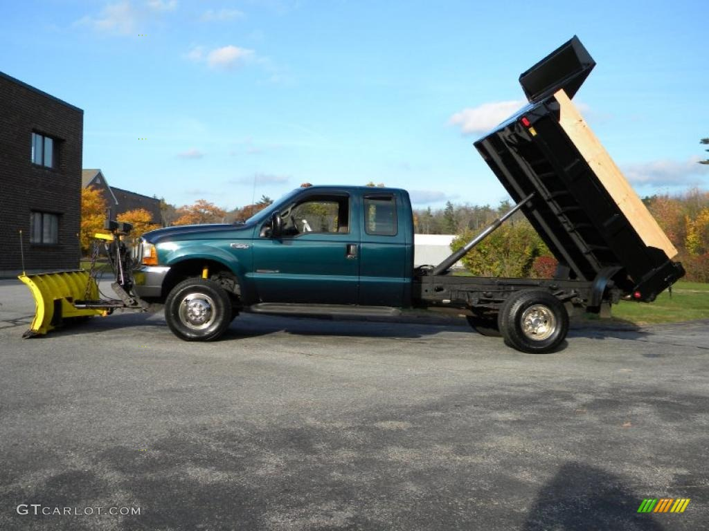 1999 Ford F350 Xl Supercab Super Duty News >> 1999 Woodland Green Metallic Ford F350 Super Duty XL SuperCab 4x4 Dump Truck #40571614 ...
