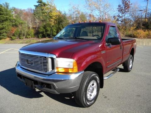 1999 Ford F350 Super Duty Lariat Regular Cab 4x4 Data, Info and Specs