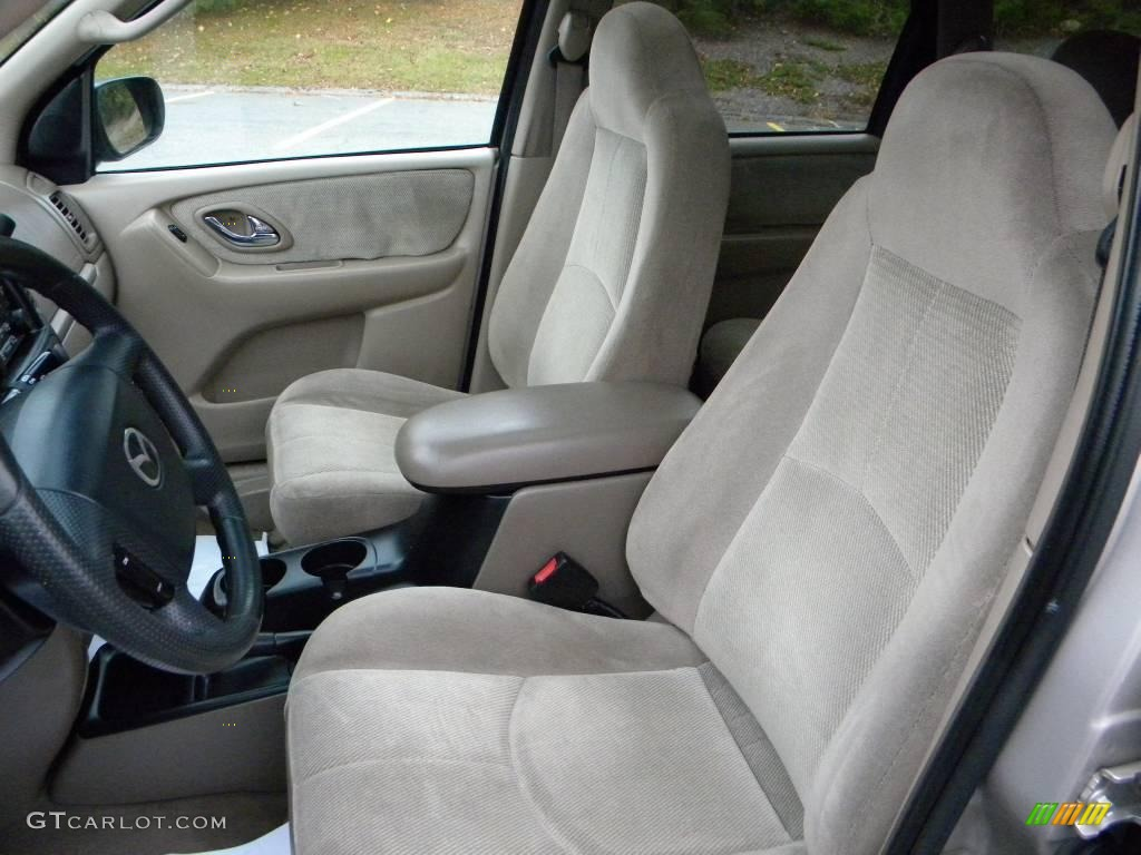 beige interior 2001 mazda tribute lx v6 photo 40659821. Black Bedroom Furniture Sets. Home Design Ideas