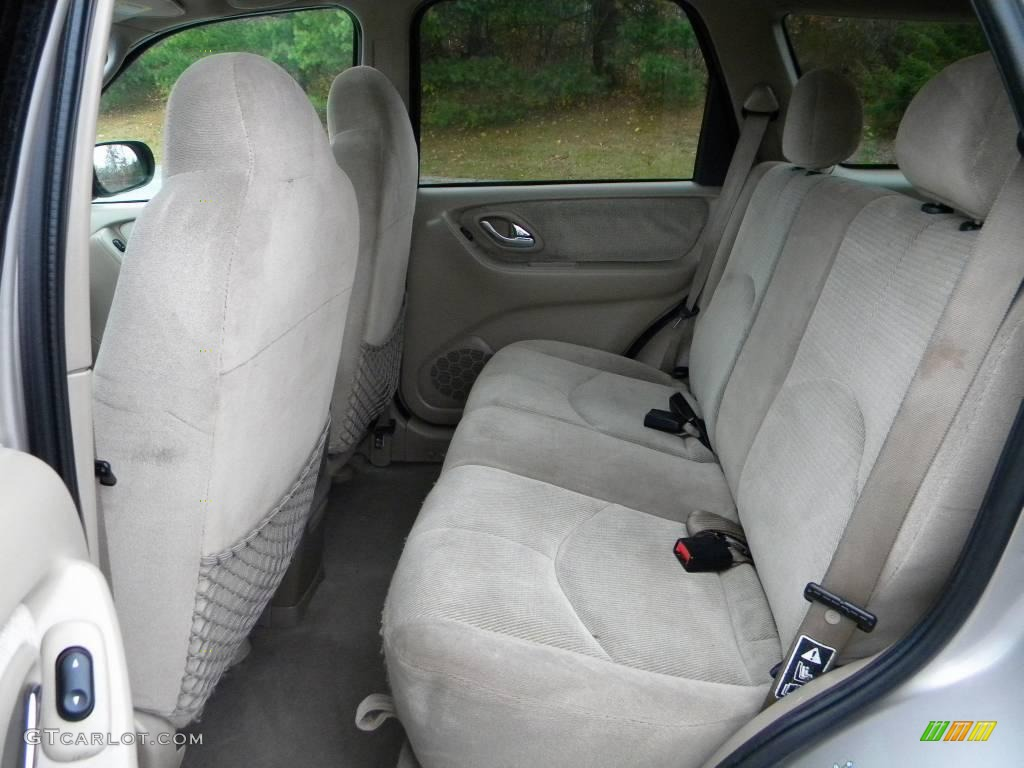beige interior 2001 mazda tribute lx v6 photo 40659825. Black Bedroom Furniture Sets. Home Design Ideas
