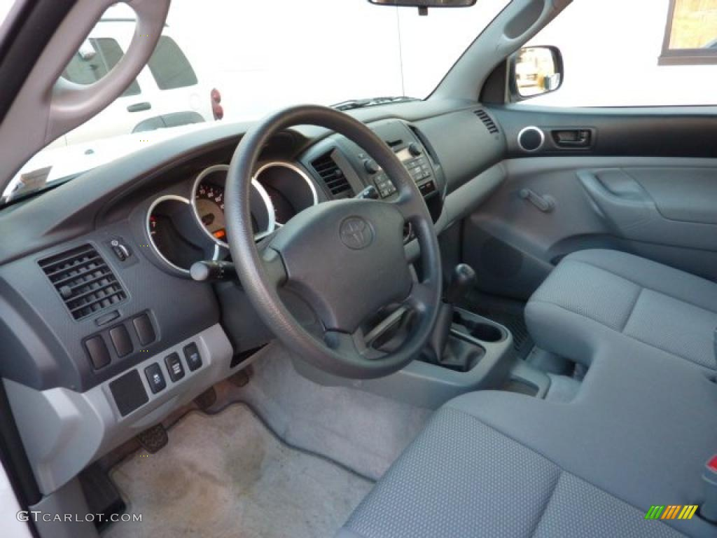 Graphite Interior 2010 Toyota Tacoma Regular Cab 4x4 Photo 40666271 Gtcarlot Com