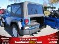 2011 Cosmos Blue Jeep Wrangler Sport S 4x4  photo #8