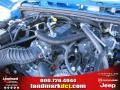 2011 Cosmos Blue Jeep Wrangler Sport S 4x4  photo #12