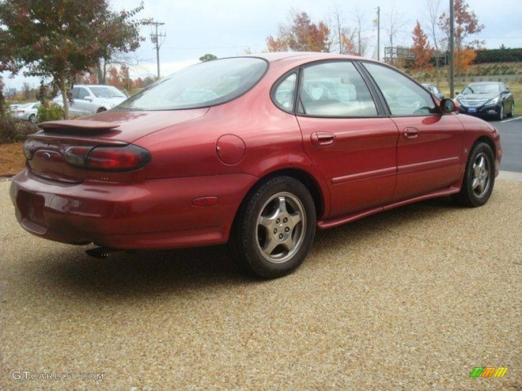 toreador red metallic 1998 ford taurus sho exterior photo. Black Bedroom Furniture Sets. Home Design Ideas