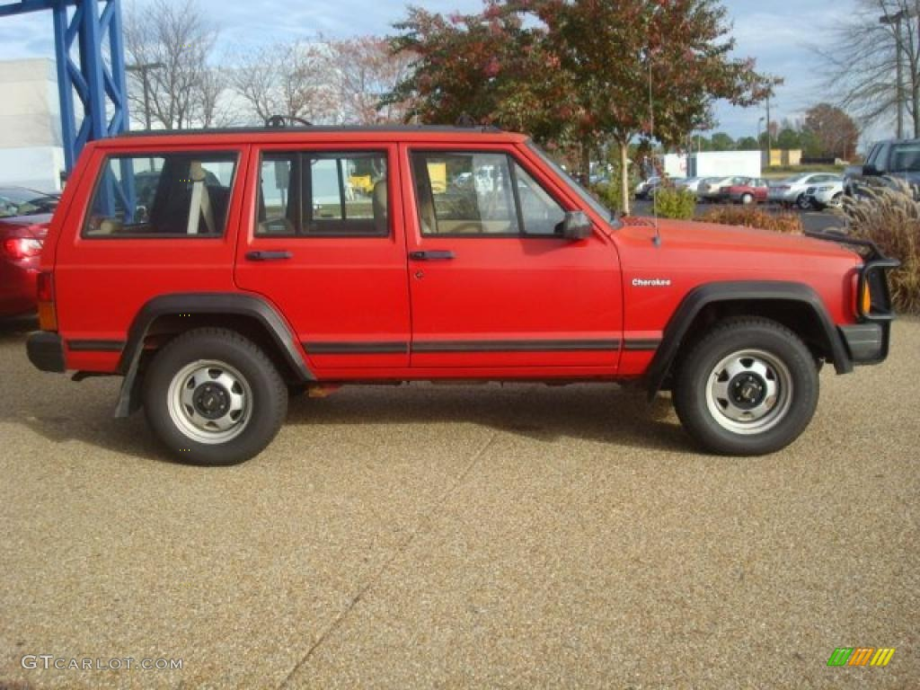 Jeep Flame Red Paint