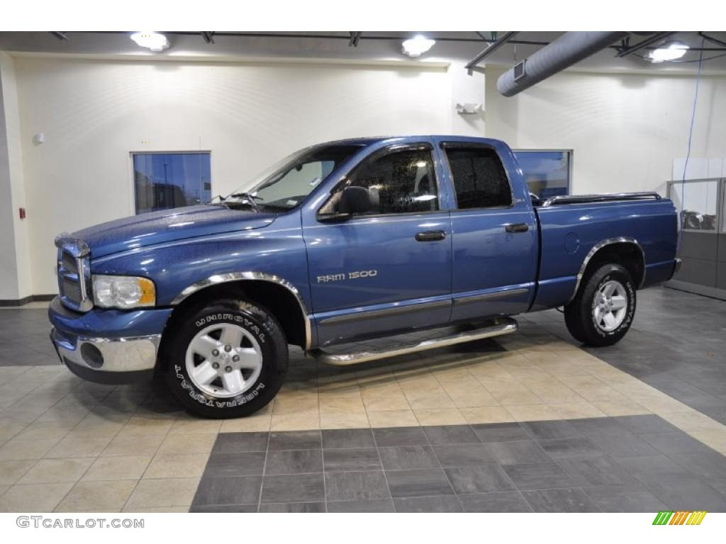 Atlantic Blue Pearl Dodge Ram 1500